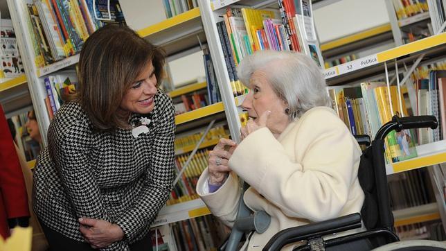 Ana María Matute: «Aunque los escritores a veces se odian, los libros nunca se odian entre ellos»