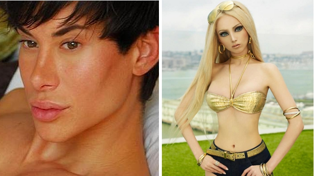 El Ken y la Barbie de la vida real se insultan durante una sesión de fotos