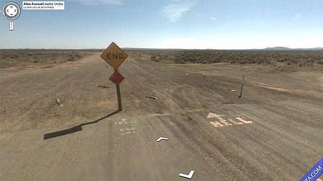 Las 25 imágenes más extrañas cazadas por Google Street View