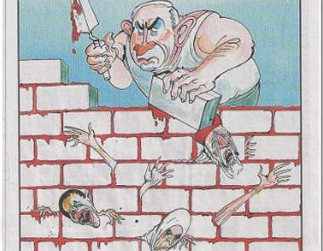 Murdoch se disculpa por la viñeta de Netanyahu construyendo un muro con palestinos muertos