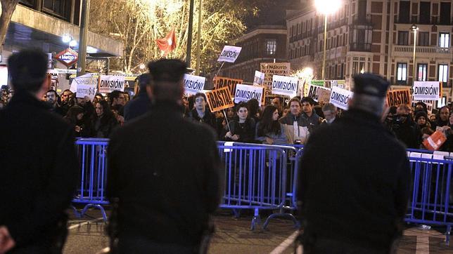 Imagen de la protesta