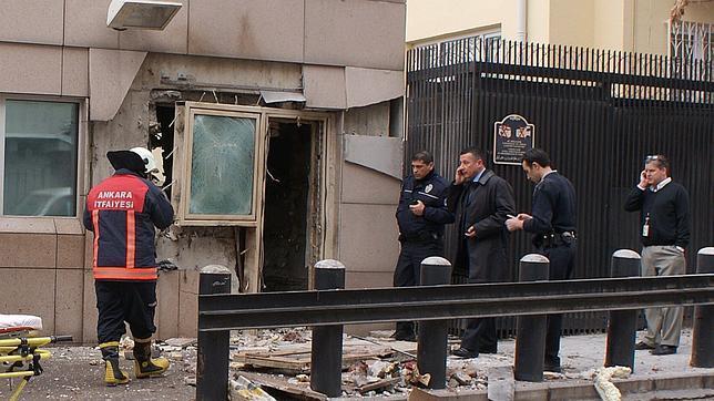 Dos muertos y un herido en un atentado en el consulado de EE.UU. en Ankara