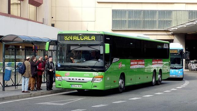 Alcal de henares y barajas unidos por autob s for Autobuses alcala de henares