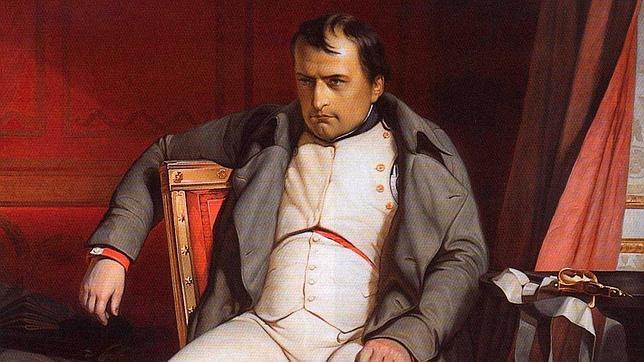 En la imagen, el cuadro «Napoleón en Fountainbleau»