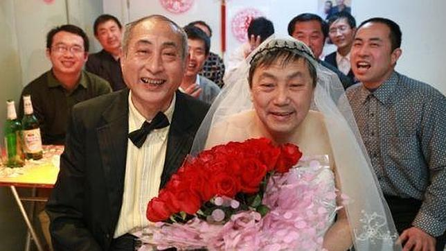 La boda gay que ha desafiado a la sociedad china