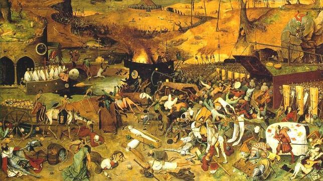 El triunfo de la muerte. Brueghel el Viejo.