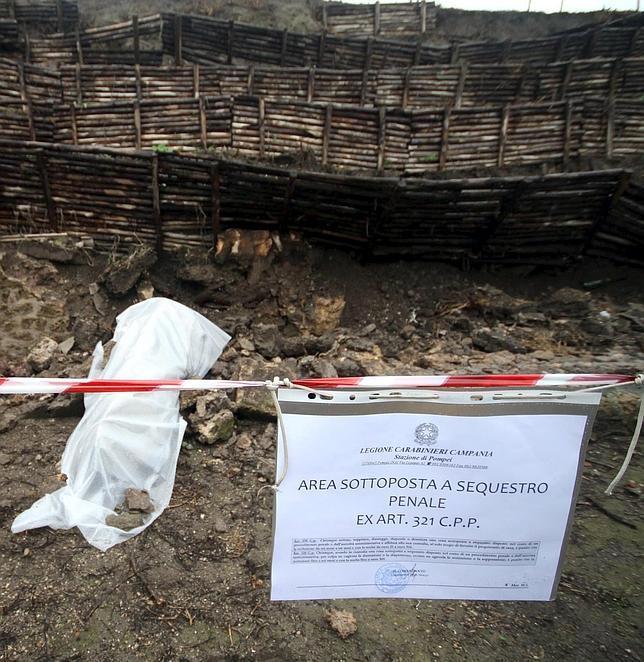 Se inician los trabajos de restauración de Pompeya, tras años en mal estado