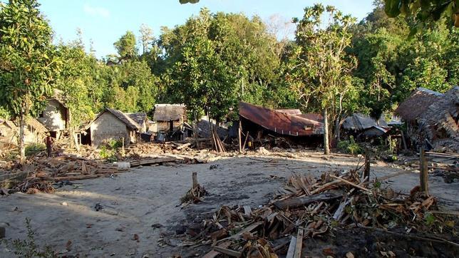 Al menos nueve muertos por el tsunami en las Islas Salomón