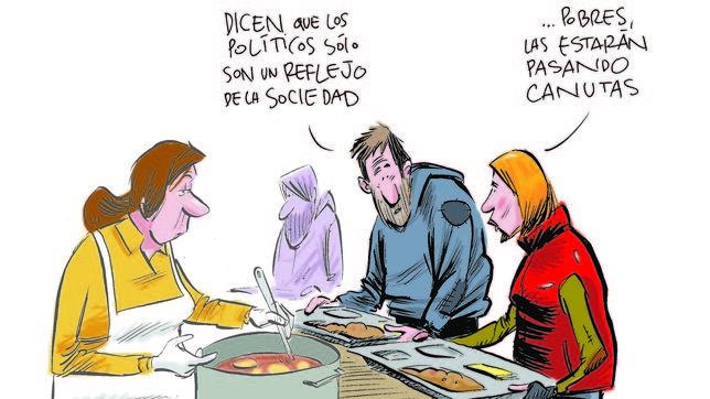 Viñeta de Puebla sobre la clase política