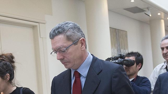 Gallardón anuncia que quitará las tasas en los recursos de desahucios
