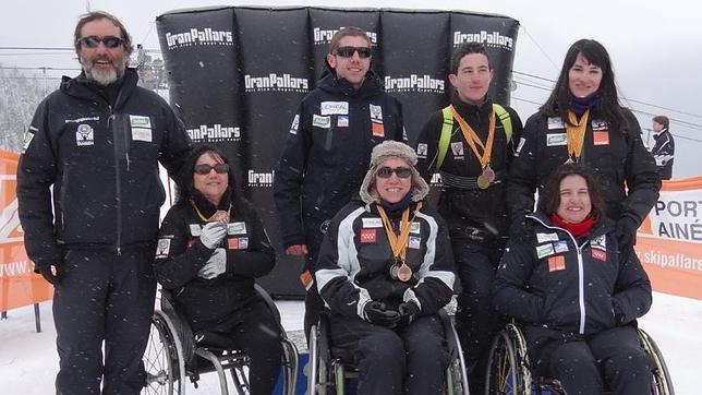 Irene Villa, oro en el slalom de esquí alpino adaptado de Cataluña