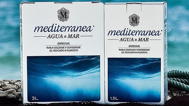Mediterránea agua de mar