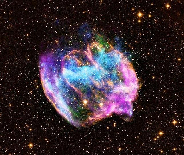Descubren el agujero negro más joven de la galaxia