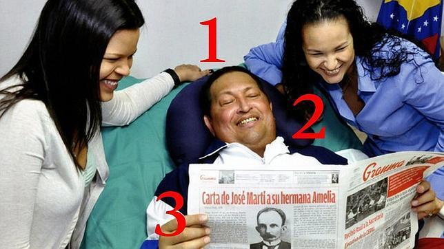 La primera imagen de Hugo Chávez en dos meses desde su ingreso