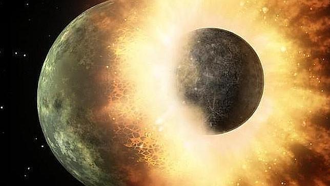 El agua lleva en la Luna mucho tiempo