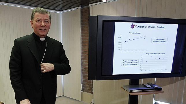 9,1 millones de declarantes asignan a favor de la Iglesia católica