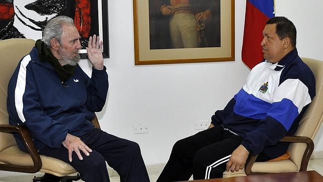 «Granma» rebaja el optimismo de Fidel Castro sobre la salud de Hugo Chávez