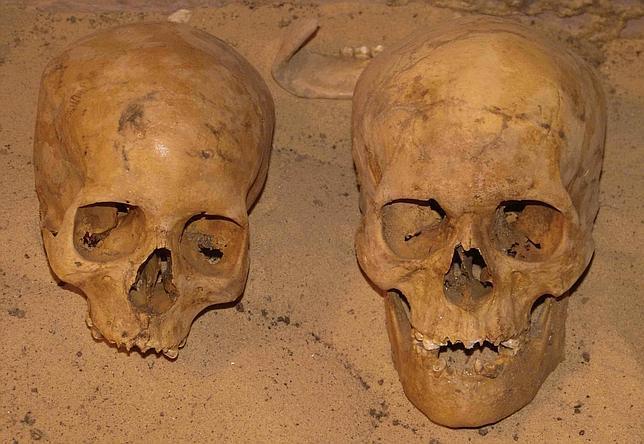 Los antiguos egipcios morían antes de los 30 años de hambre e infecciones