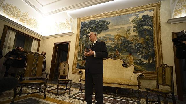 Saverio Petrillo, director de la Villa Pontificia de Castel Gandolfo, brinda detalles sobre la historia del palacio