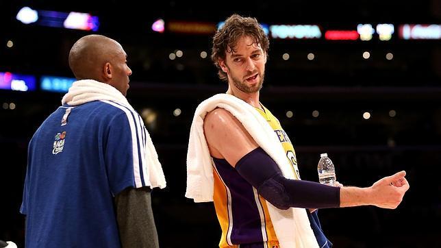 Los Lakers no traspasarán a Pau Gasol