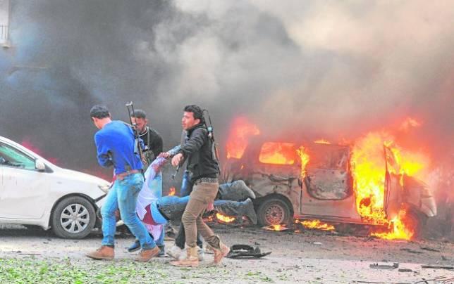 Siria se desangra en una imparable guerra civil