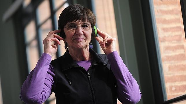 La psicóloga de la Universidad de Toronto Sandra Trehub, estos días en Barcelona