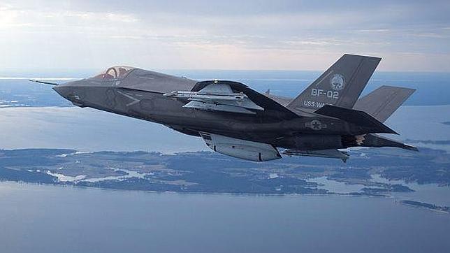 EEUU suspende los vuelos de sus cazas F-35 tras detectar un fallo en un motor