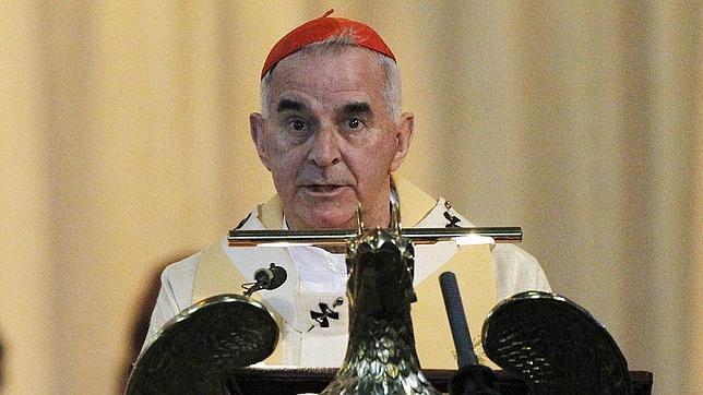 Renuncia el cardenal católico O'Brien tras las acusaciones de «comportamiento inapropiado»