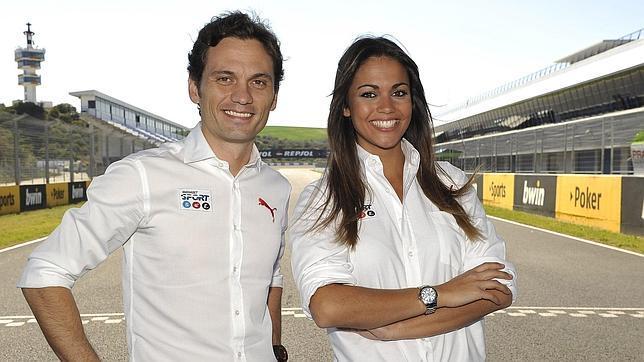 Marco Rocha y Lara Álvarez