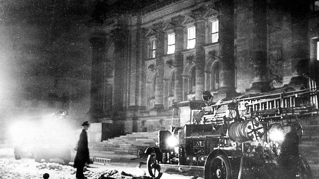 Incendio del Parlamento alemán en 1933