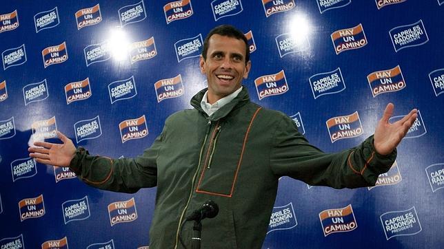 El actual líder de la oposición venezolana, Henrique Capriles