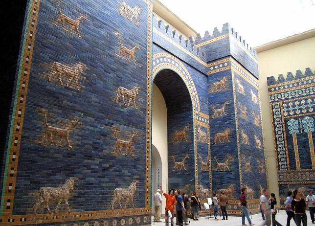 Robados en Irak 400 fragmentos de la Puerta de Ishtar en la antigua Babilonia