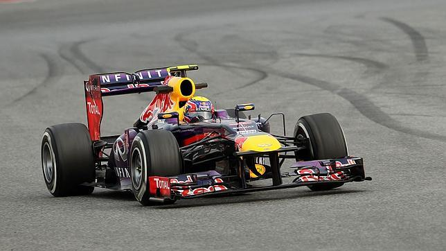 Webber marca el mejor tiempo de la jornada