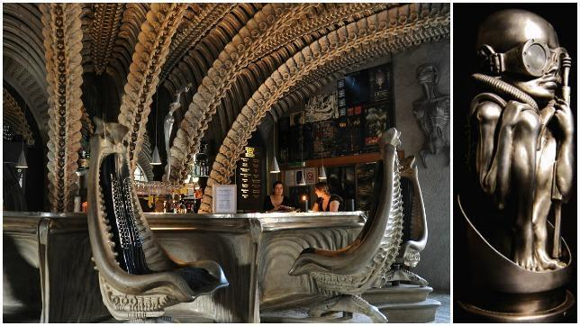 «Museo de Alien» (Museo HR Giger) (Suiza)