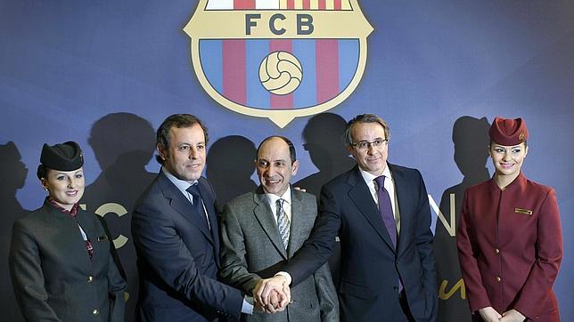 El Barça lucirá publicidad de Qatar Airways en su camiseta