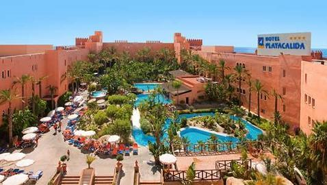 Los diez mejores hoteles de espa a para ir con ni os for Hoteles en granada con piscina climatizada