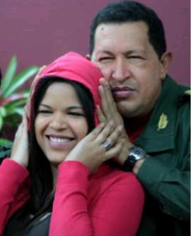 La hija de Chávez en Twitter: «Hasta siempre papito mío»