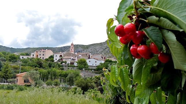 Benisili, en el Valle de las Cerezas