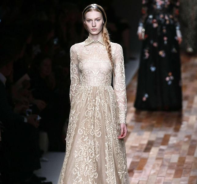 Cinco vestidos de Valentino que adorar