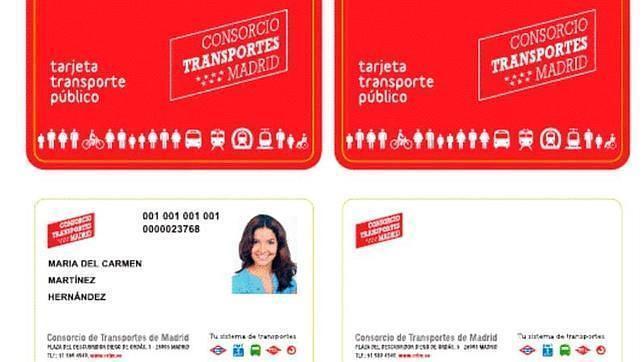 La tarjeta de transportes sin contacto se podr recargar for Oficina del consorcio de transportes de madrid