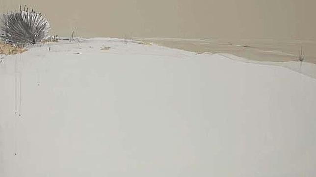 «Espacio I», de Eduardo Gómez Query. I Premio Categoría Pintura Emergente