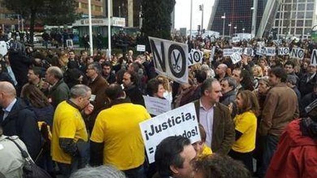 Un vocal pedirá hoy al CGPJ que envíe a Justicia el listado de jueces que hicieron huelga