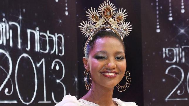 Yityish Titi Aynaw, primera etíope en conseguir el título de miss de Israel
