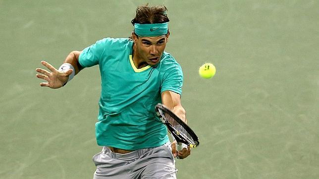 Nadal se prueba antes de Federer