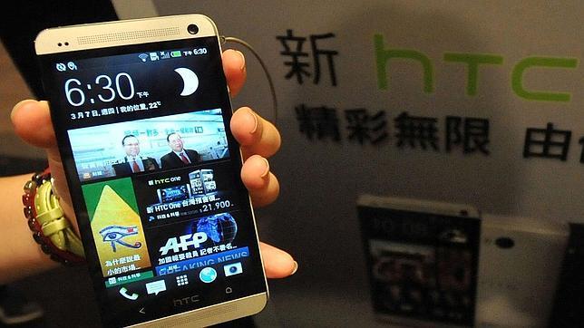 Un terminal HTC One