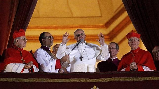 Jorge Bergoglio, primer Papa no europeo