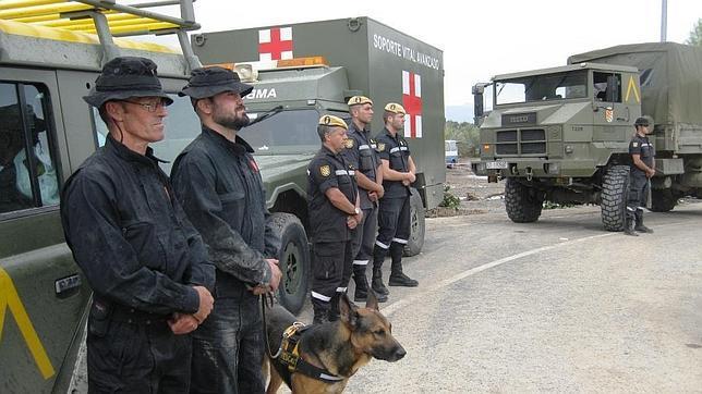 la UME y el 112 ultiman su coordinación en caso de catástrofe