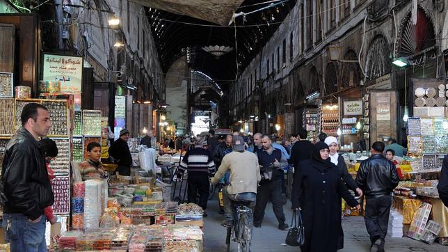 Damasco bajo el yugo de la econom a de guerra - Fotos de damasco ...