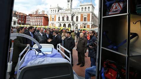 Castilla y León cuenta con la única  ambulancia para obesos de España