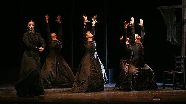 Una escena de «Rango», a cargo del Ballet de Antonio Gades